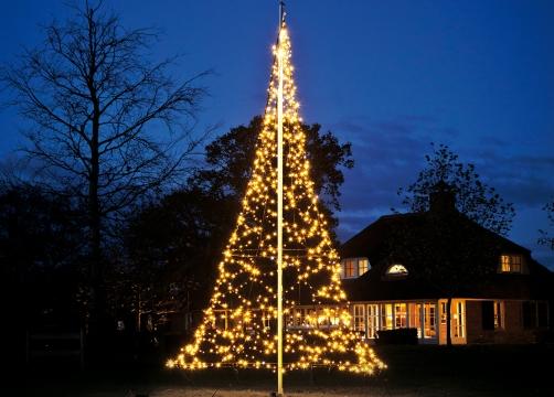 Fairybell kerstboom mooi en sfeervol licht