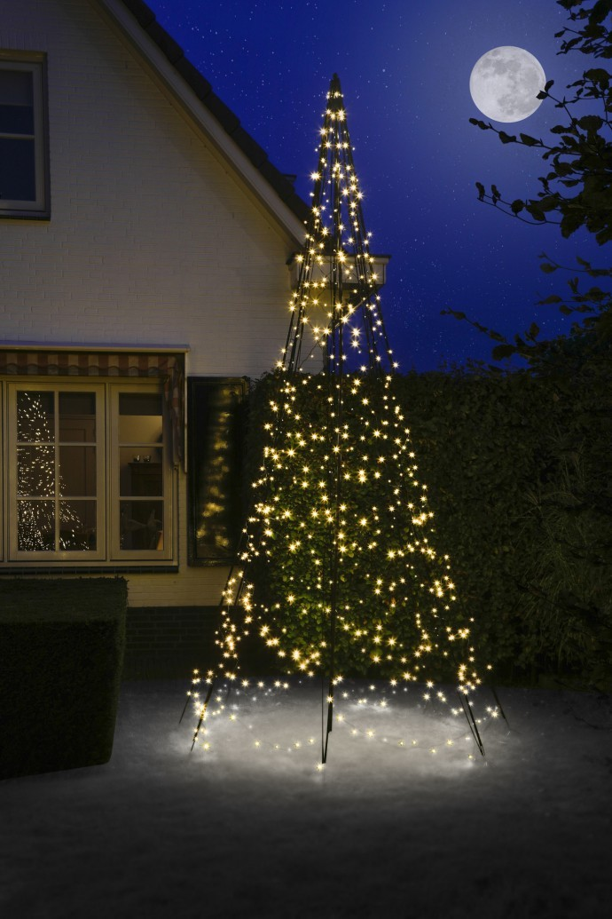 Fairybell 400 cm 640 led warm wit